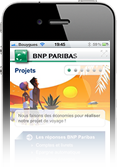 BNP Paribas Pixmobi website